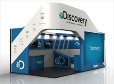 Discovery Networks Exhibition Design 2 25 Innovative 3D Exhibition Designs, Display Stands & Booth Collection