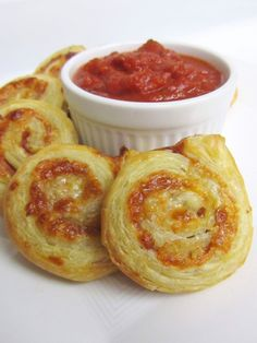 Pizza Swirls  (ham & cheese)