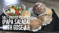Salt-Crusted Potatoes (Papa Salada) with Gose Ají