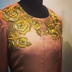 Our gold rose detailing ❤️ #bhumikasharma#details#goldroses#sequins#cape#gorgeousness