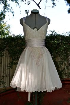 Wedding Dress- Romantique- Custom made to order. $350.00, via Etsy.