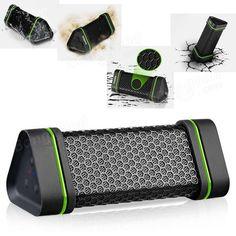 Waterproof Shockproof Bluetooth Stereo Speaker For iPhone Smartphone Device - US$26.69