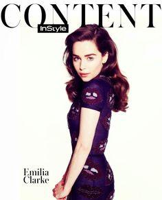 Mineyy's Moodboard: Emilia Clarke for Instyle UK