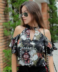O Neck Semi Transparent Chiffon Blouse – Trendy Road Dress Outfits, Casual Outfits, Fashion Dresses, Girl Sleeves, Dresses With Sleeves, Blouse Styles, Blouse Designs, Look Fashion, Womens Fashion