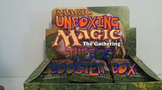#theros #mtg booster box #unboxing now live on #youtube #stonelane1827 - http://www.youtube.com/watch?v=W7wP5xbVyQ4