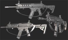 ArtStation - Advanced Warfare highpolies, Ben Bolton