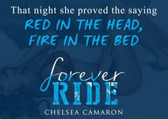 Title: Forever Ride Series: The Hellions Ride Author: Chelsea Camaron Genre: MC Romance Cover Designer:Cover Me Darling Events happen in life that can awaken our truest and deepest desires. They a…