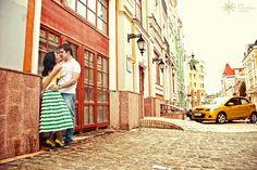 Городская фотосессия для влюбленных