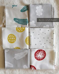 Maze and Vale handprinted fabric giveaway by leslie.keating, via Flickr