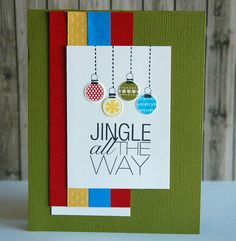 Card: Jingle All the Way