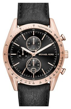 MICHAEL Michael Kors 'Accelerator' Chronograph Bracelet Watch, 44mm