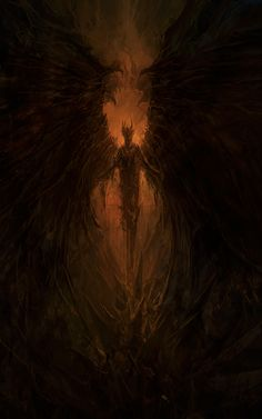 New Fire Monster Concept Art Deviantart Ideas Dark Fantasy Art, Fantasy Artwork, Dark Art, Fantasy Demon, Fantasy Creatures, Mythical Creatures, Illustration Fantasy, Satanic Art, Demon Art