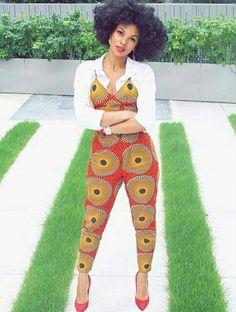 Ankara. Romper. Wax Print. Kitenge.  ~African fashion, Ankara, kitenge, African women dresses, African prints, Braids, Nigerian wedding, Ghanaian fashion, African wedding ~DKK