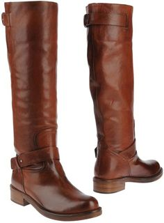 Costume National Brown Boots-love these for fall and winter.