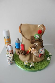 A 3D backpack full of adventures - Cake by Anna Augustyniak