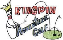 King Pin Adventure Golf, we have so much fun here!