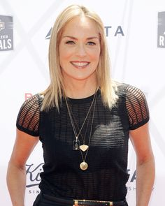 the Kiehl's 4th annual LifeRide for amfAR finale event, | Sharon Stone