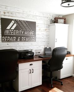 Integrity_home_diy on Instagram Home Office, Home, Remodel, Home Repair, How To Distress Wood, Distressed Wood Wall, Fixer Upper, Rustic Design, Home Diy