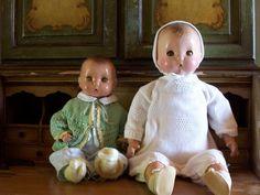 Horsman Brother Dolls Vintage 1930's Composition.