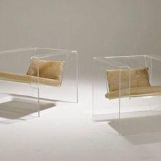 Interior Design Addict: Fashion Gone rouge Vintage Furniture Design, Home Decor Furniture, Furniture Decor, Bauhaus, Acrylic Furniture, Design Blogs, Modern Interior Design, Contemporary Furniture, Chair Design