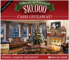 Kirkland's Home for the Holidays Sweepstakes – Win a $10,000 Kirkland Shopping Spree! Ends 12/25/12