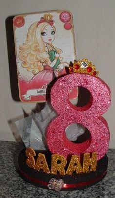 EVER AFTER High 3D Centerpiece or Cake Topper An Elegant by JKkidz, $21.95