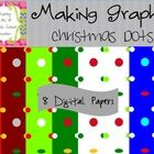 I created these digital papers in Christmas colors.Zip file contains both .png and .jpg formats.You may use these digital papers for personal o...