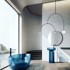 Minimalist Bathroom Design, Bathroom Design Luxury, Bathroom Drain, Washroom, 3d Interior Design, Curved Lines, Toilet Cleaning, Bathroom Pictures, Contemporary Interior