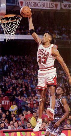 Scottie Pippen the pride of the University of Central Arkansas (my alma mater)
