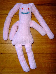 Emin's chenille dolly - 2006