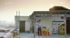 Lee Ji-Hoon's Rooftop Apartment – Korean Dramaland - Modern Korea Apartment, Apartment Kitchen, Apartment Design, Apartment Therapy, Plan Studio, Rooftop Design, The Big Hit, Layout, Fashion Room