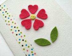 charming diy Mother's Day card