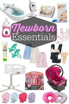 Newborn Essentials · Happily Hughes