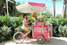 Victoria's Secret PINK Nation Pool Party - goodies
