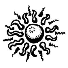 Trippy Demon Doodle Icon 327