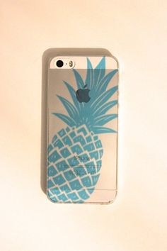Pineapple Soft iPhone 5s Case by trompo on Etsy