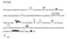 3.3. Emlékezet fejlesztésével kapcsolatos feladatok/játékok gyűjteménye | Képességfejlesztés az alsó tagozaton Math, Math Resources, Early Math, Mathematics