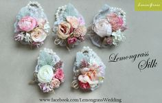 Series corsage. Special pricing will apply.