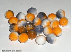 Czech Firepolished Beads 8mm 02010/95300
