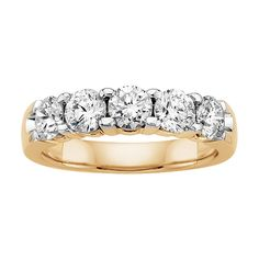 Diamond Anniversary Band I really really want this to match my wedding band for my fifth anniversary! #Fredmeyerjewelers #Giftsthatdelight