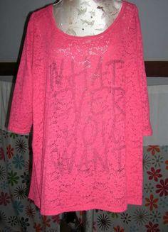 À vendre sur #vintedfrance ! http://www.vinted.fr/mode-femmes/hauts-and-t-shirts-t-shirts/34596542-top-style-dentelle-taille-50-52