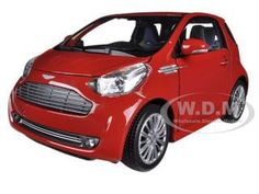 diecastmodelswholesale - Aston Martin Cygnet Red 1/24 Diecast Car Model by Welly, $14.49 (http://www.diecastmodelswholesale.com/aston-martin-cygnet-red-1-24-diecast-car-model-by-welly/)
