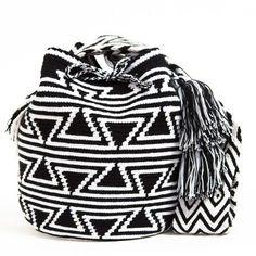 Resultado de imagen para como hacer mochilas wayuu