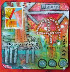 Frieda Oxenham: Art Card 2 Silence