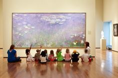 """It concerns me – and I suspect others have noted this, as well – that museum educators often resort to the phrase and model of """"classroom management."""" Mobile Art, Social Art, Visual Thinking Strategies, Preschool Art, Childhood Education, Learn Art, Teaching Art, Elements Of Art, Arts Ed"""