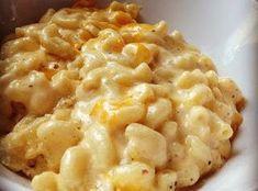 Smoked Gouda and Sharp Cheddar Mac and Cheese #justapinchrecipes
