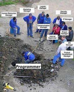 Pretty much says it all...  #webdevelopment #webdevelopers #coding #programming #programmers #webdeveloper #developer #programmer #computerscience #webdev #webdesign #ruby #rails #rubyonrails #softwareengineering #javascript #html #freelancing #freelancer #UX #UI #webdesign #design