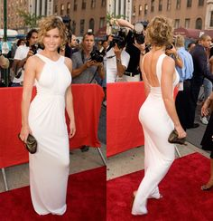 I WANT FOR FORMAL! Jessica Biel Grecian Gown