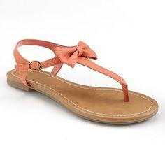 LOVE.  LC Lauren Conrad T-Strap Sandals - Women