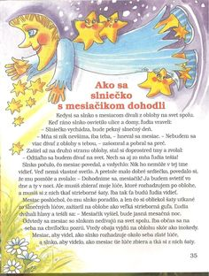 rozprávka o Slnku a Mesiaci Diy And Crafts, Crafts For Kids, Weather Seasons, Education English, Colorful Pictures, Cas, Art Lessons, Activities For Kids, Preschool